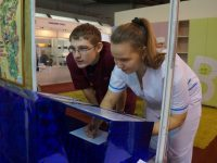 У наших экспонатов — Образовательные организации Ленинск-Кузнецкого городского округа приняли участие в Кузбасском образовательном форуме-2017