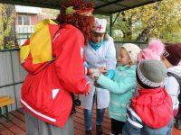 Прошёл туристический слет для дошколят «За здоровьем – с рюкзаком»