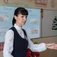 Протопопова Ольга Олеговна. Учебное занятие по английскому языку. 10 класс.