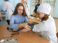 Организованы профессиональные пробы в медицинском колледже